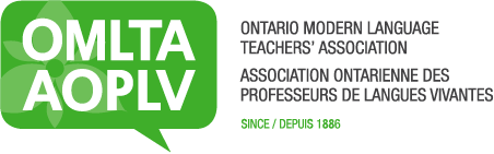 OMLTA / AOPLV - Ontario Modern Language Teachers' Association / Association ontarienne des professeurs de langues vivantes