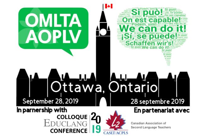 OMLTA Fall Conference 2019 | OMLTA / AOPLV